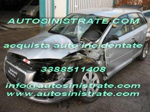 auto incidentate sinistrate acquistiamo 3388511408  in tutta italia