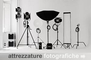 Attrezzatura fotografica professionale a noleggio