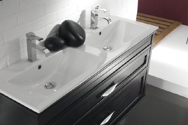 Arredo bagno doppio lavabo i mobili lavabo sospesi sono i