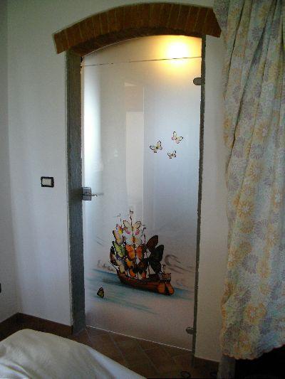 Punto vetro vetri per interni lavorazione e - Porte con specchio ...