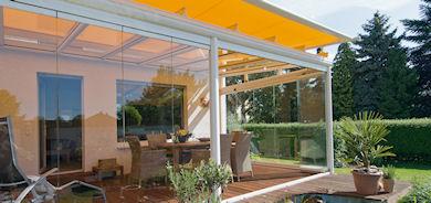 Promotec srl realizzazione giardini arredamento da for Serra solare