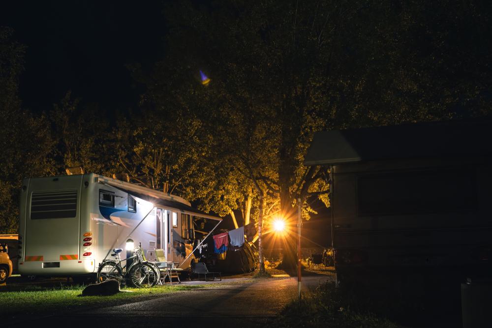 Come aprire un'area di sosta per camper