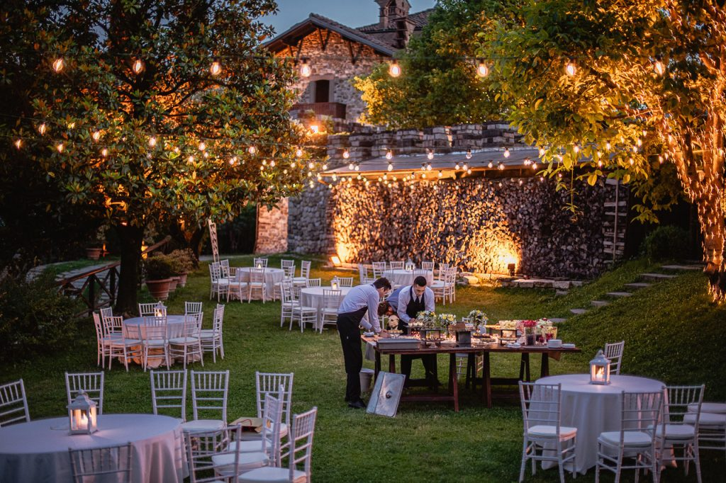 Giardino del Castello di Rossino