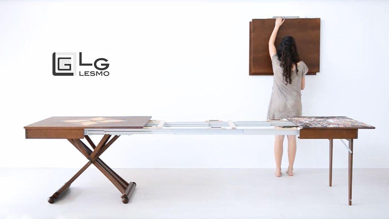 Tavoli LG Lesmo: arredamento trasformabile e funzionale, oltre che sostenibile